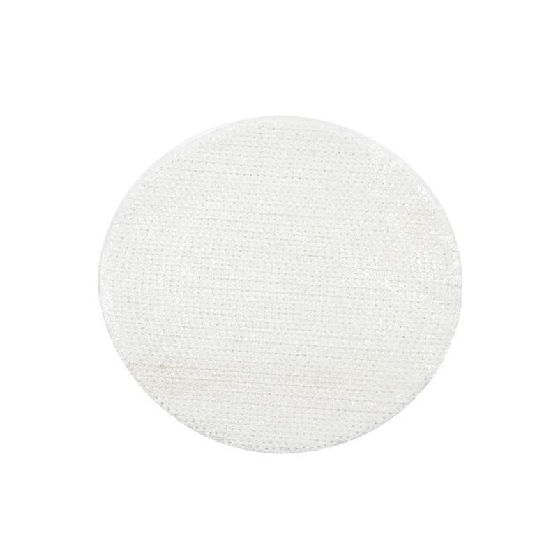 White Sequin Transfer  Round Dia 15.5cm