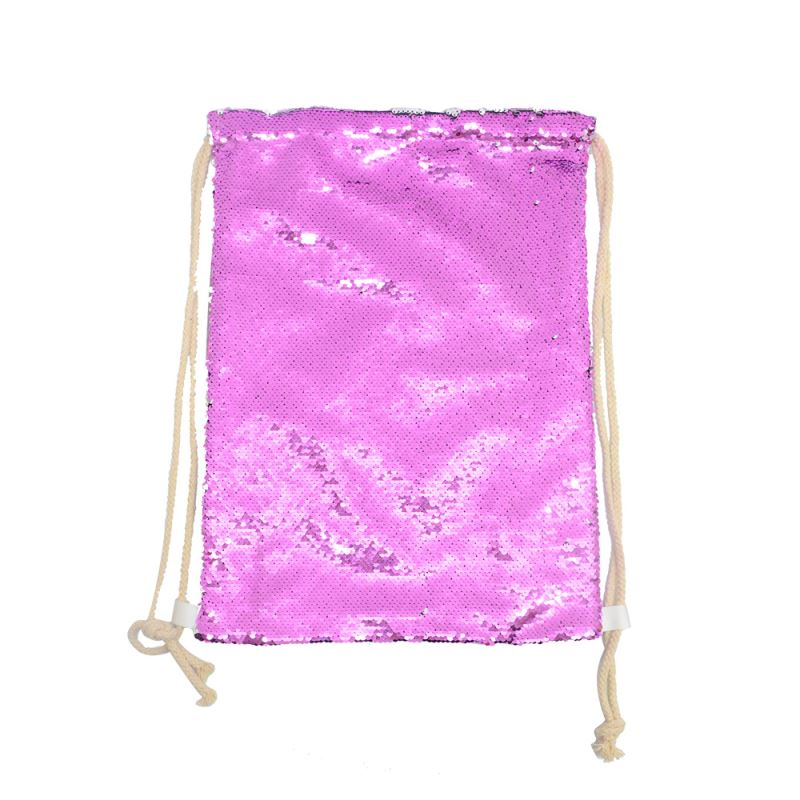 Sequin Xmas Sack 30*40cm Golden