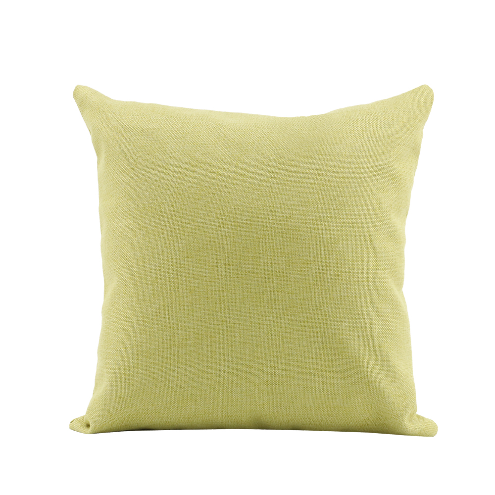 Linen Pillow Case - Green