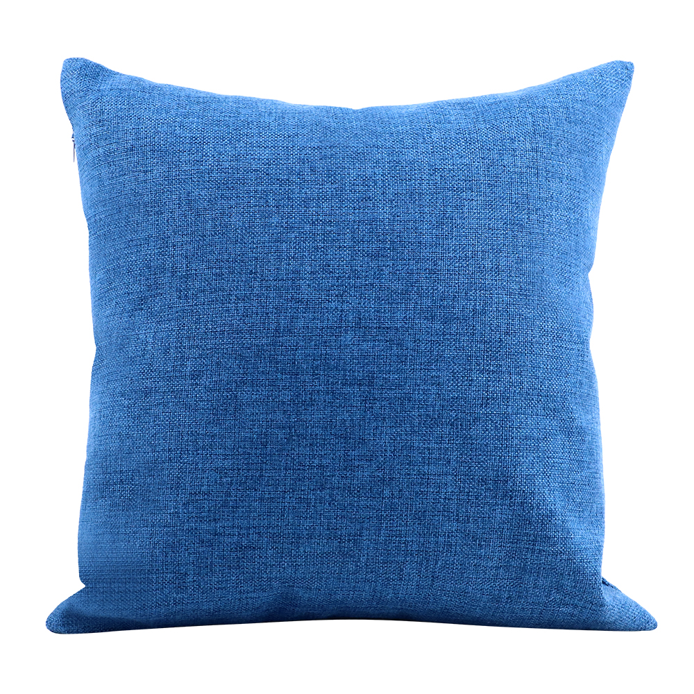 Linen Pillow Case -Dark Blue