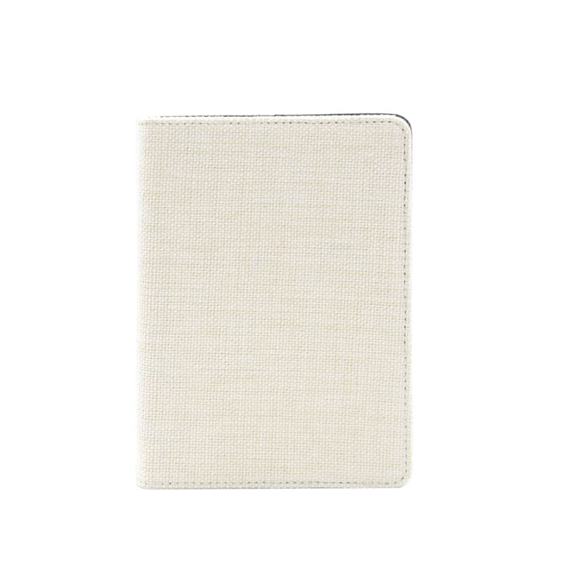 sublimation linen notebook