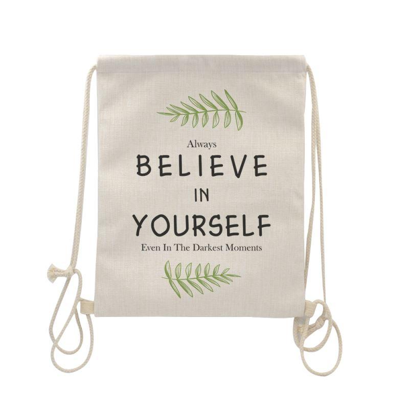 drawstring bag for sublimation