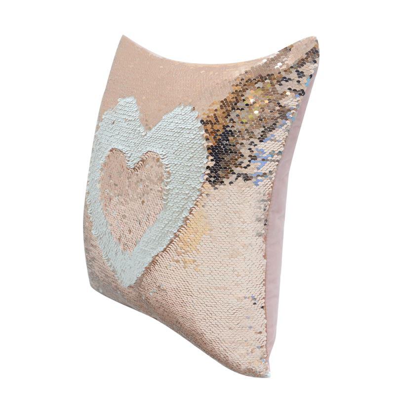 magic pillow heart shape case