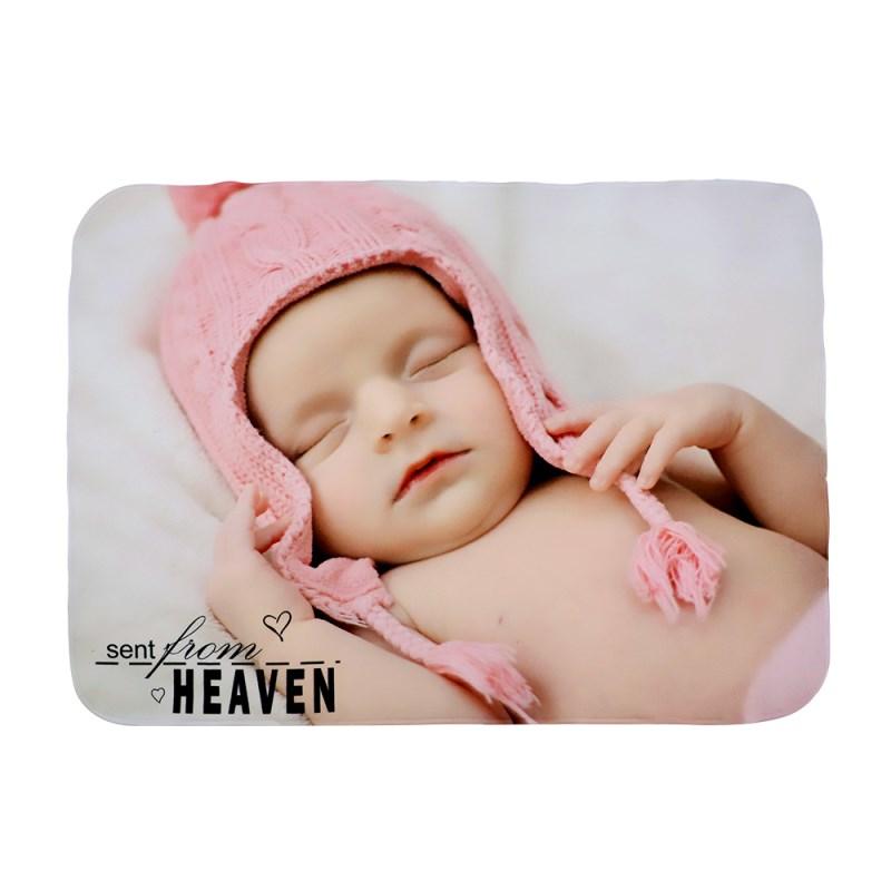 Baby Blanket-Fleece White-29