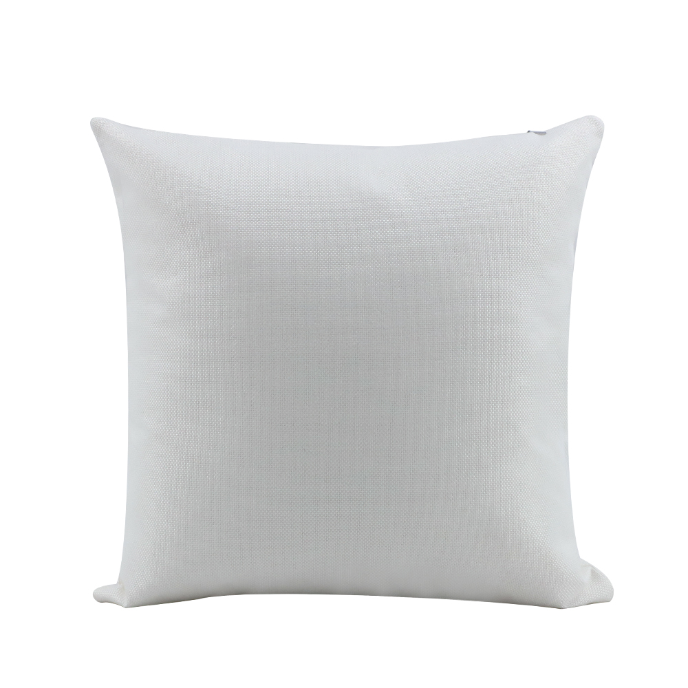Linen Pillow Case -Pure white -16