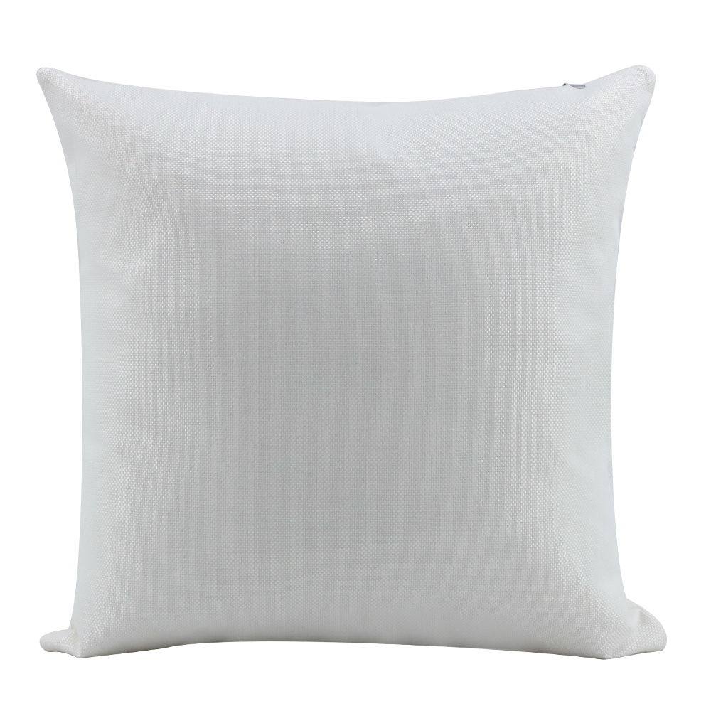 Linen Pillow Case -Pure white -18