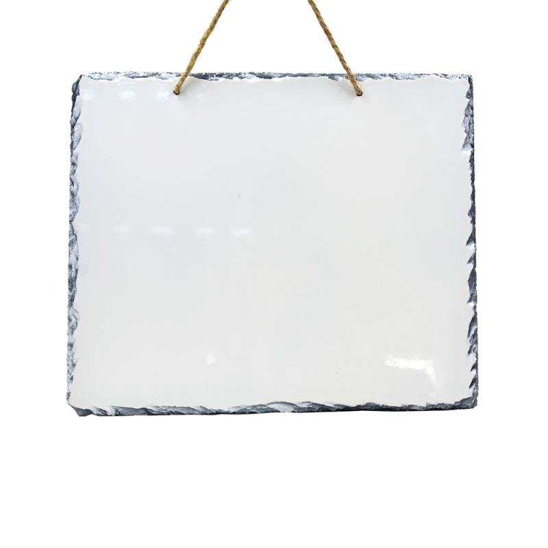Photo Slate-Big Rectangle with String Glossy/Matte-16*30