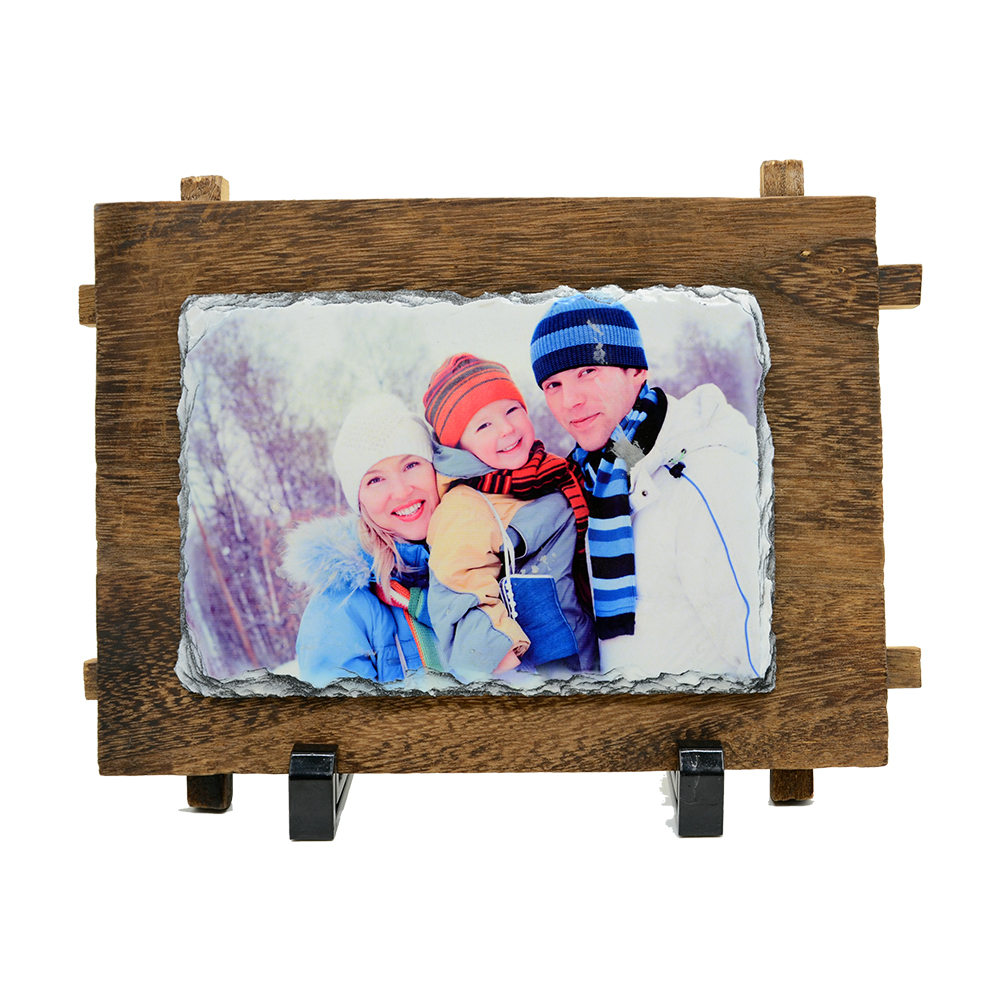 Photo Slate with frame Matt Only