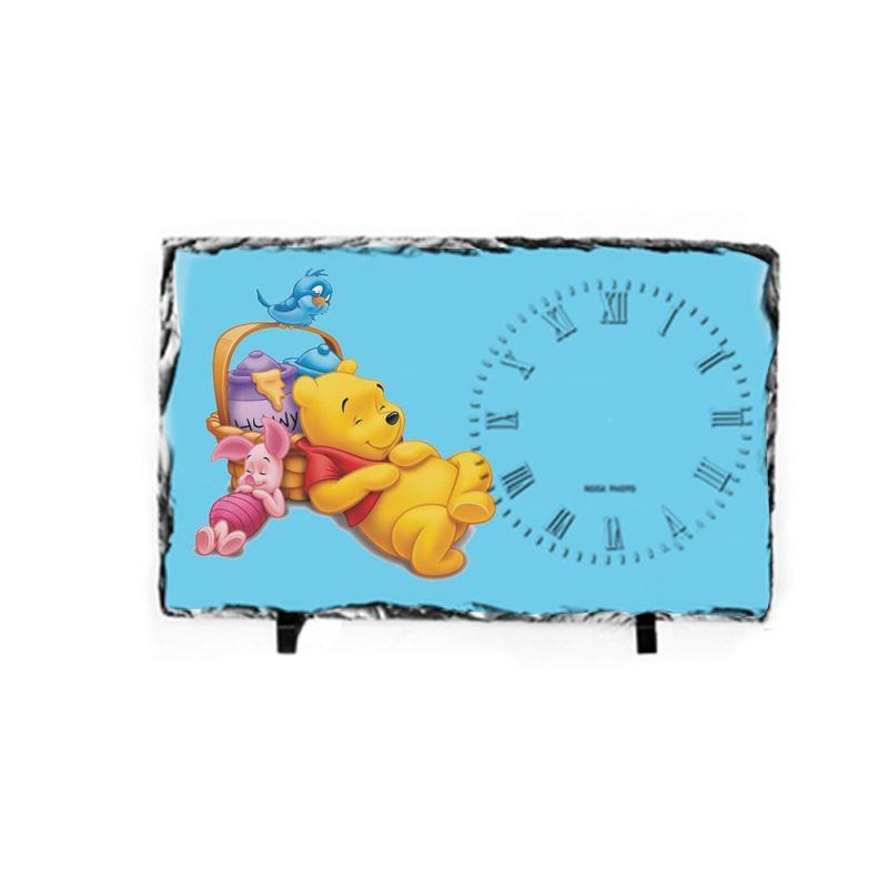 Photo Slate Big Clock Glossy/Matte - 25x40cm