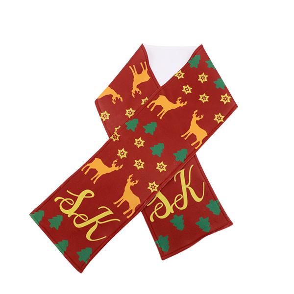 sublimation womens fleece scarf
