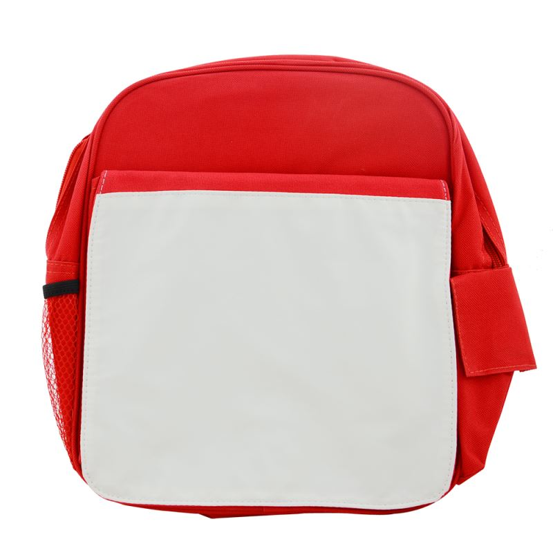 Kids back pack-red/pink/blue