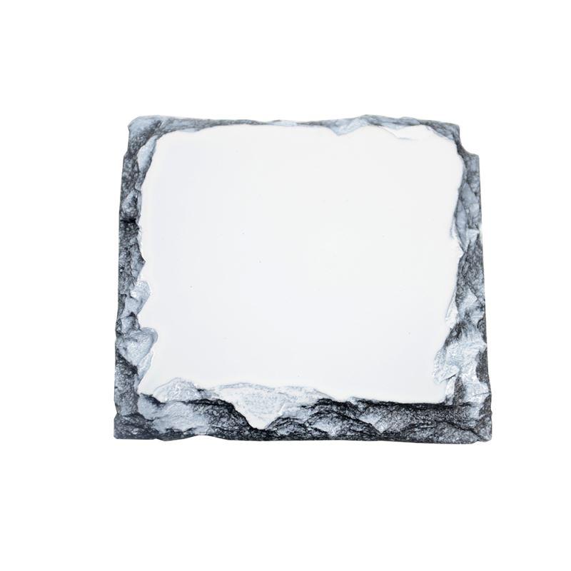 photo on stone slate