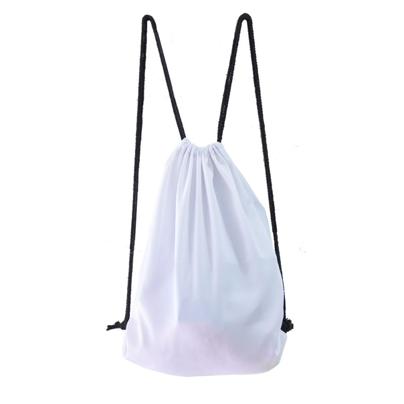 blank sublimation drawstring bags