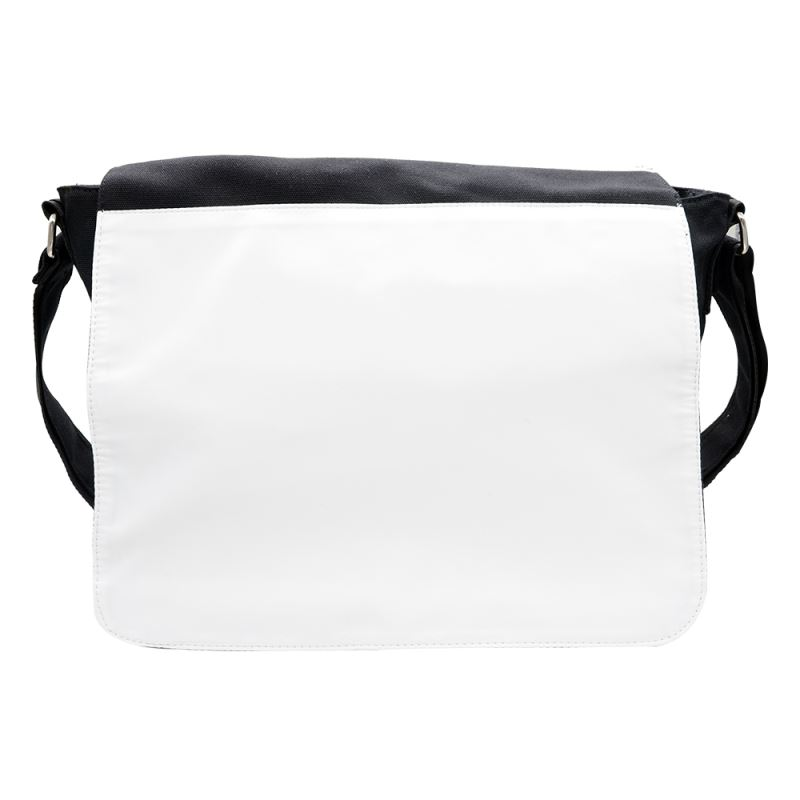 Canvas Shoulder Bag-black