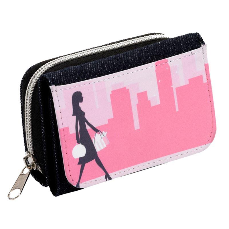 Sublimation Denim wallet