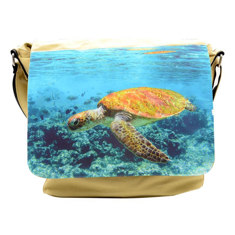 Canvas Shoulder Bag-Khahi