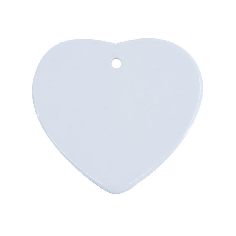Ceramic Ornaments Heart Shape 3