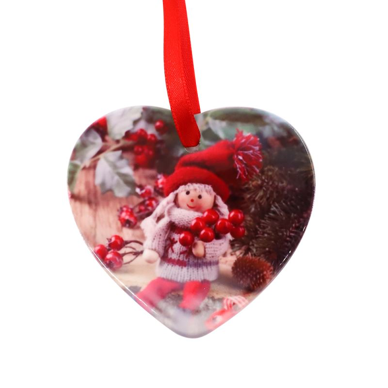 Ceramic Ornaments Heart Shape 3