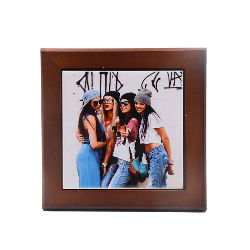 wooden frame photo insert
