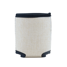 Linen Can Cooler with Base