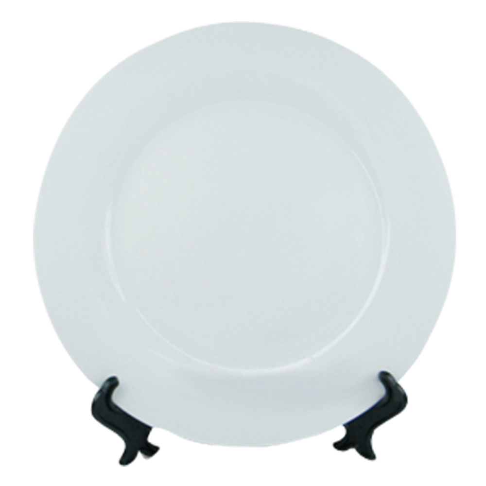 Sublimation 8'' White Plate