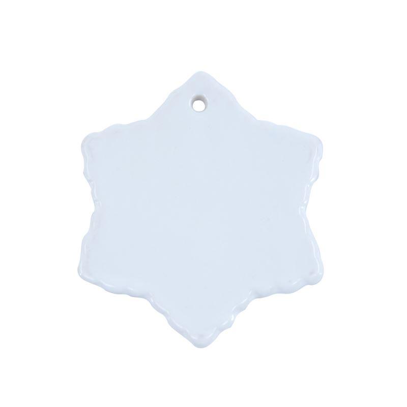 Ceramic Ornaments-Snowflower-3