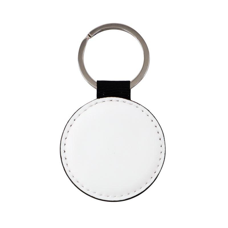 PU keychain ~Round