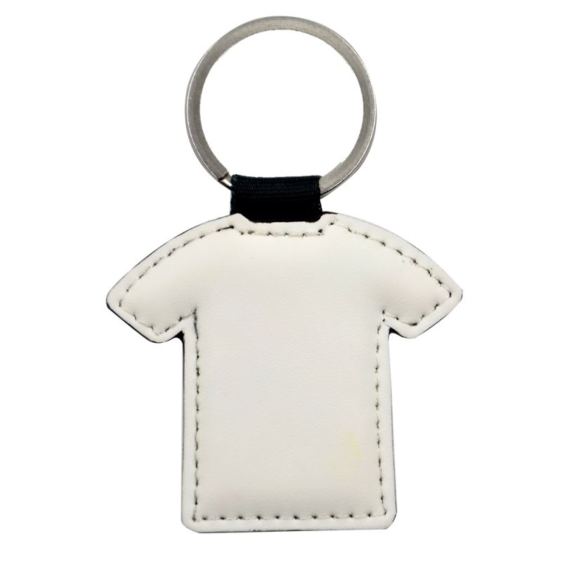 PU keychain with T- shirt shape