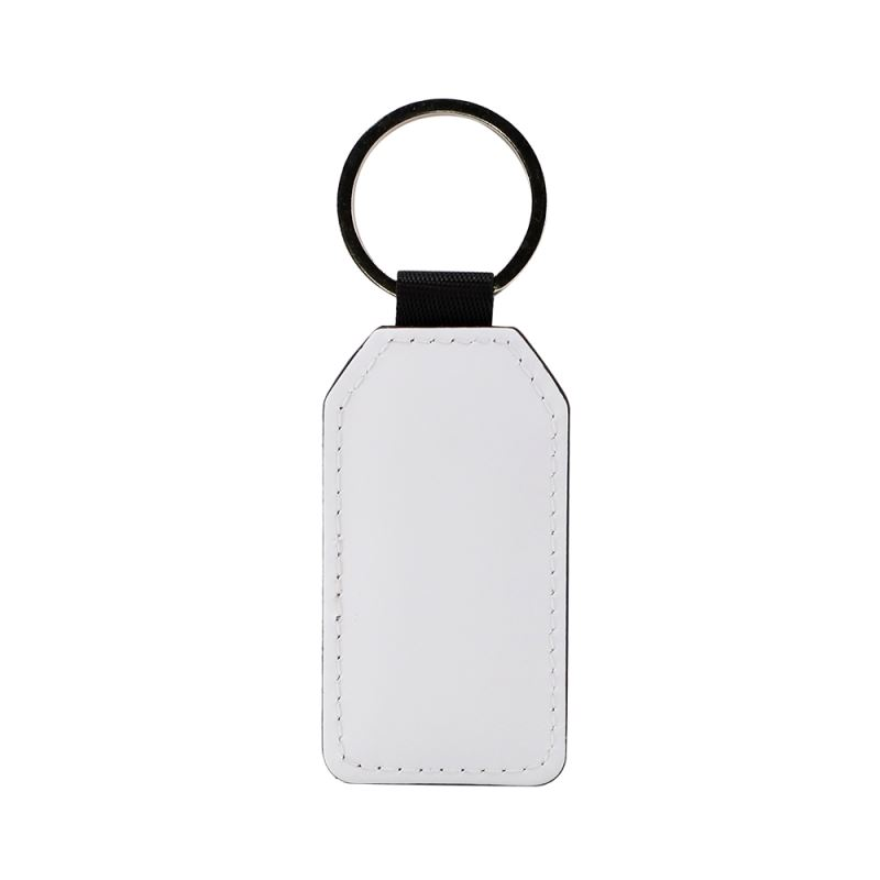 PU keychain - Rectangle