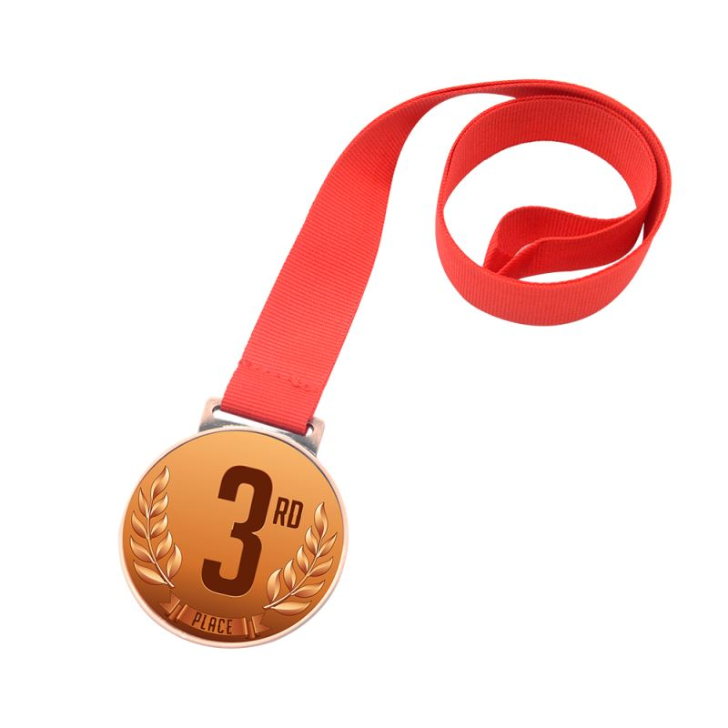 personalized blank medal