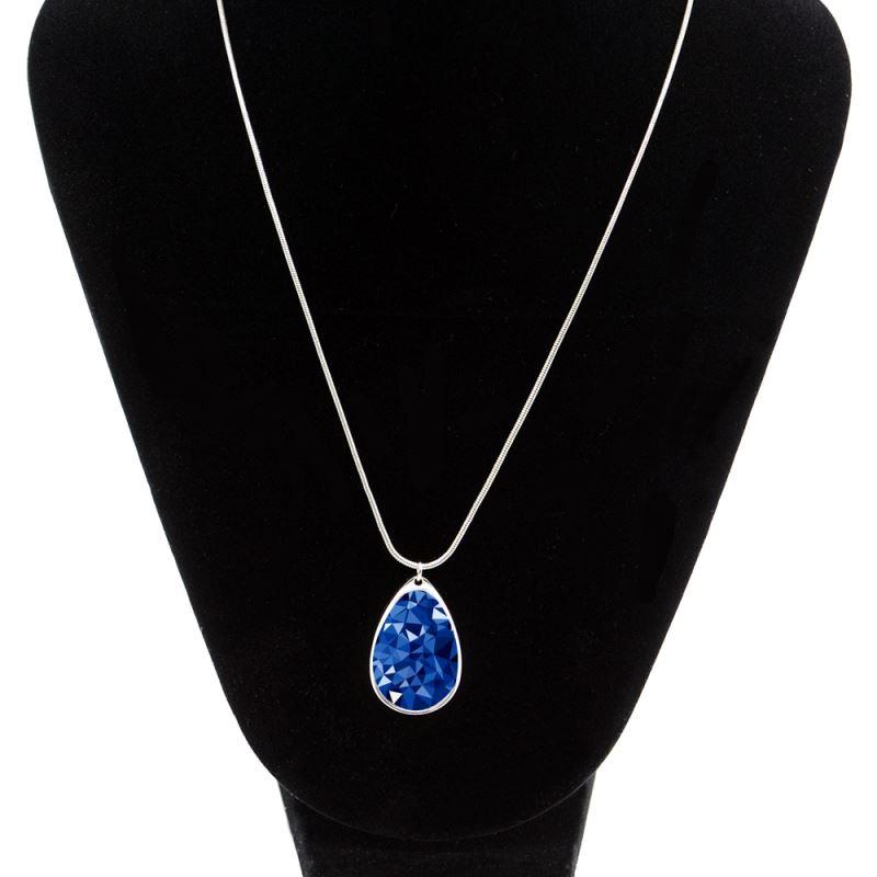 Metal Necklace-Water Drop