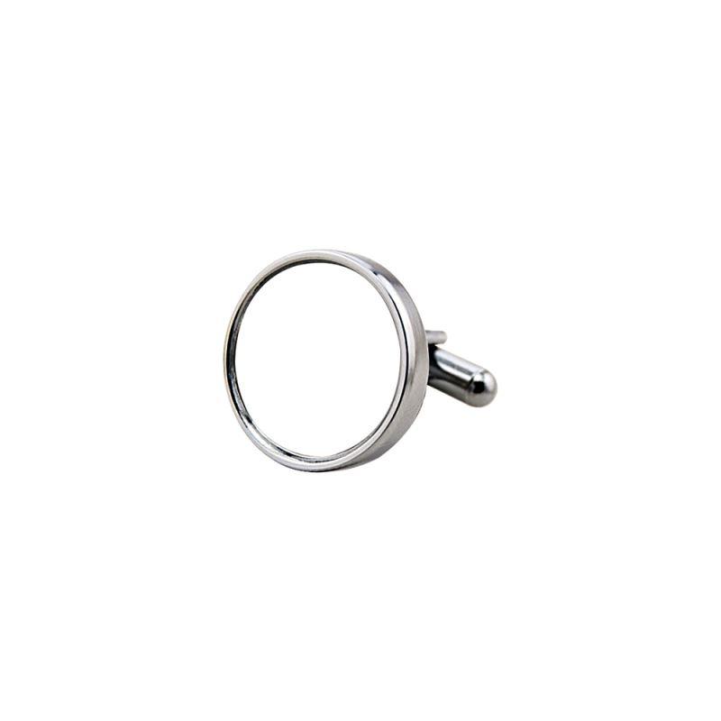Metal Cufflink-Round