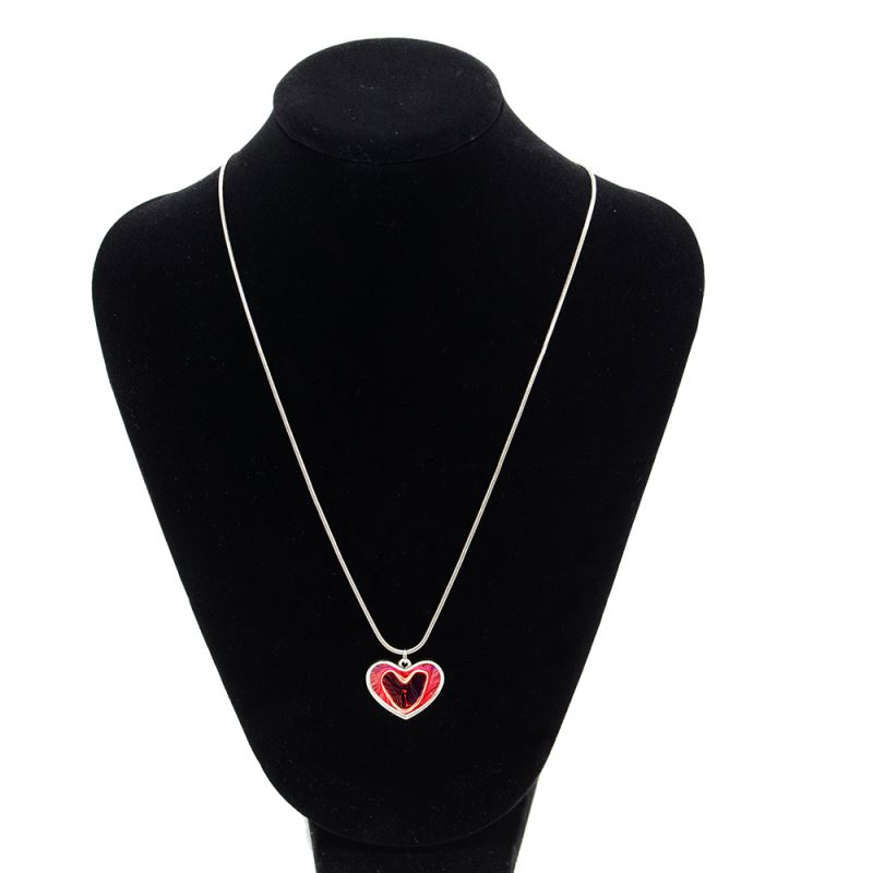 Metal Necklace-Heart