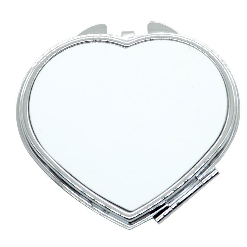 Compact Mirror - Heart - B14