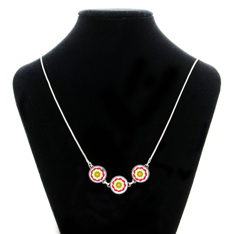 sublimation metal necklace