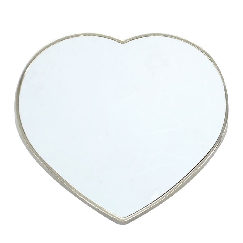 Metal Fridge Sticker - Heart