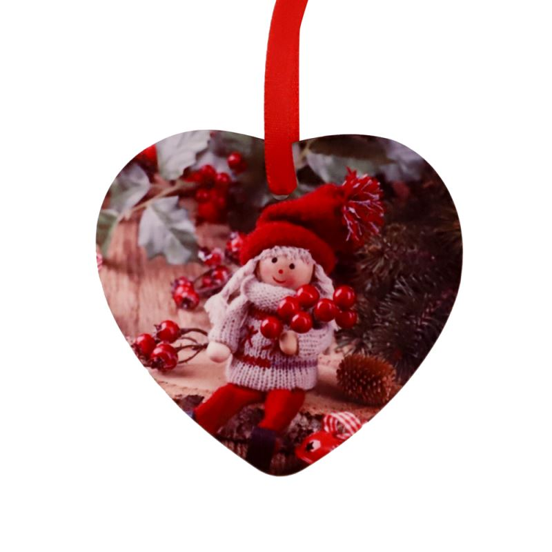 HPP Double-sided Ornaments-Heart-3