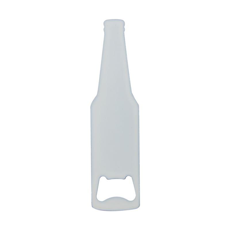 Stainless Steel Bottle Opener-Wine Shape-White