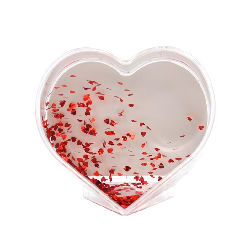Acrylic Photo Block-Heart Shape