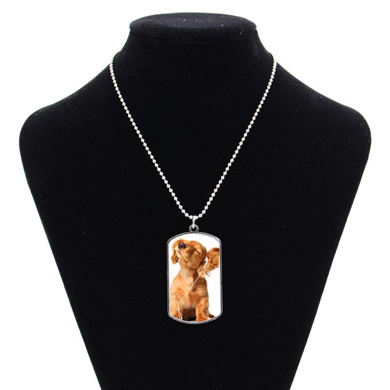 sublimation dog tag