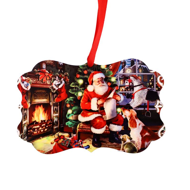 HPP Double sided Ornaments Irregular Rectangle shape