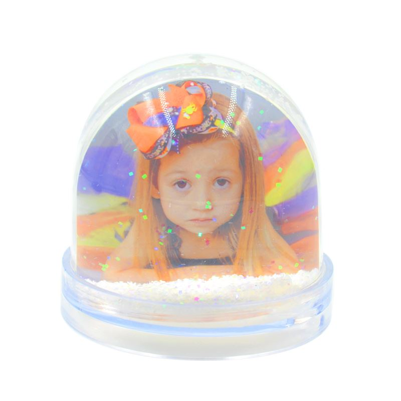 Acrylic Photo Block-Globe Shape