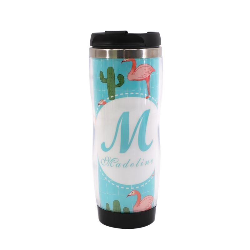 Stainless Steel Bottle with Plastic insert - 420ml