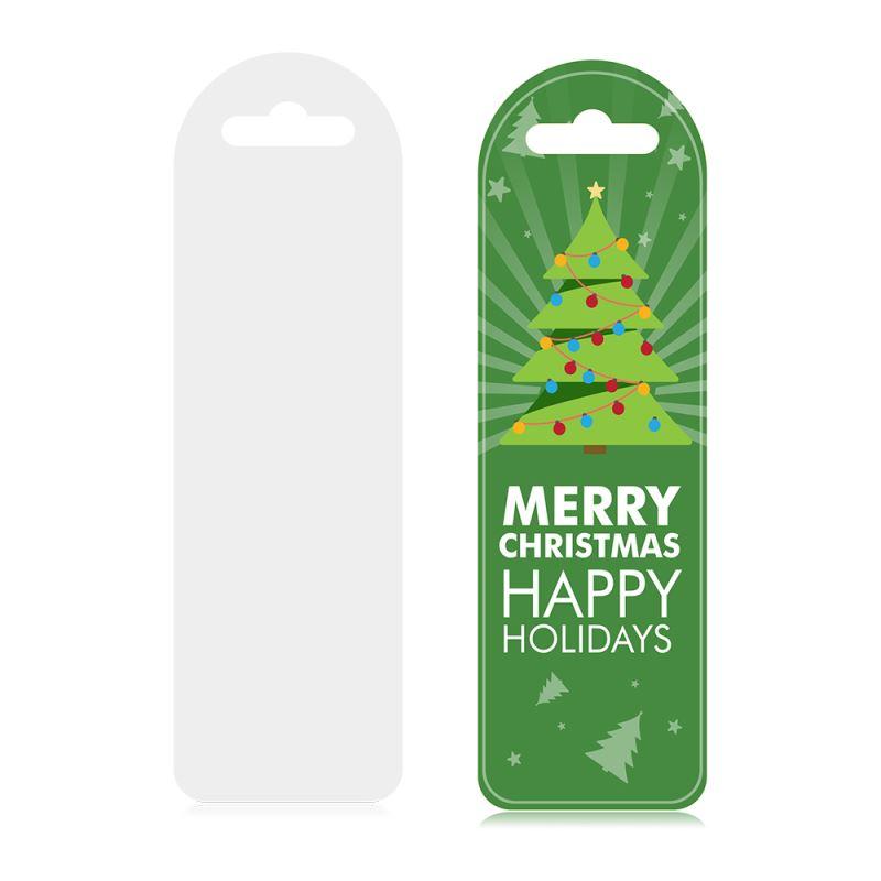 sublimation plastic bookmark
