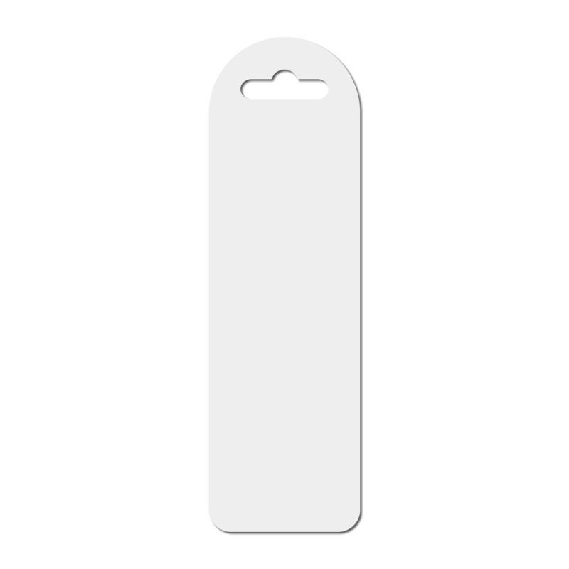 blank sublimation flexi platic bookmark