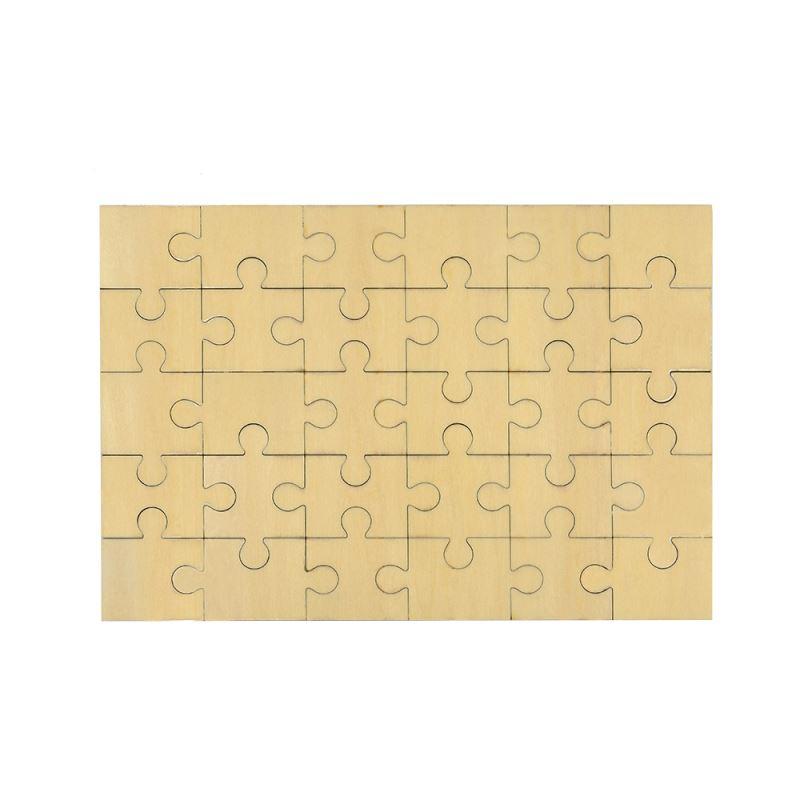 Natural Wood Puzzle - 30pcs