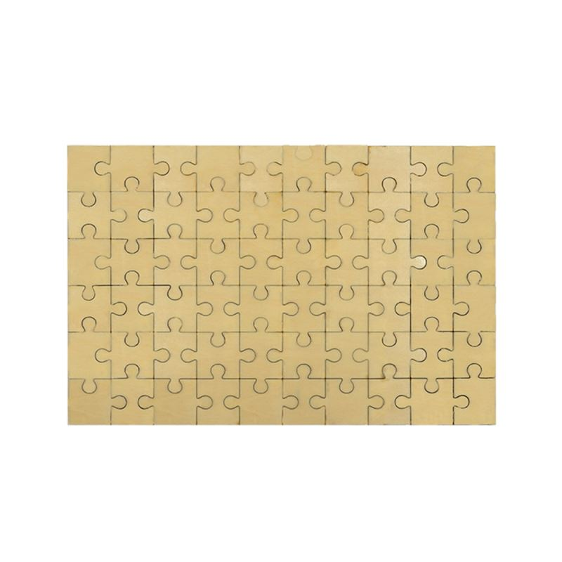 sublimation natural wood puzzle