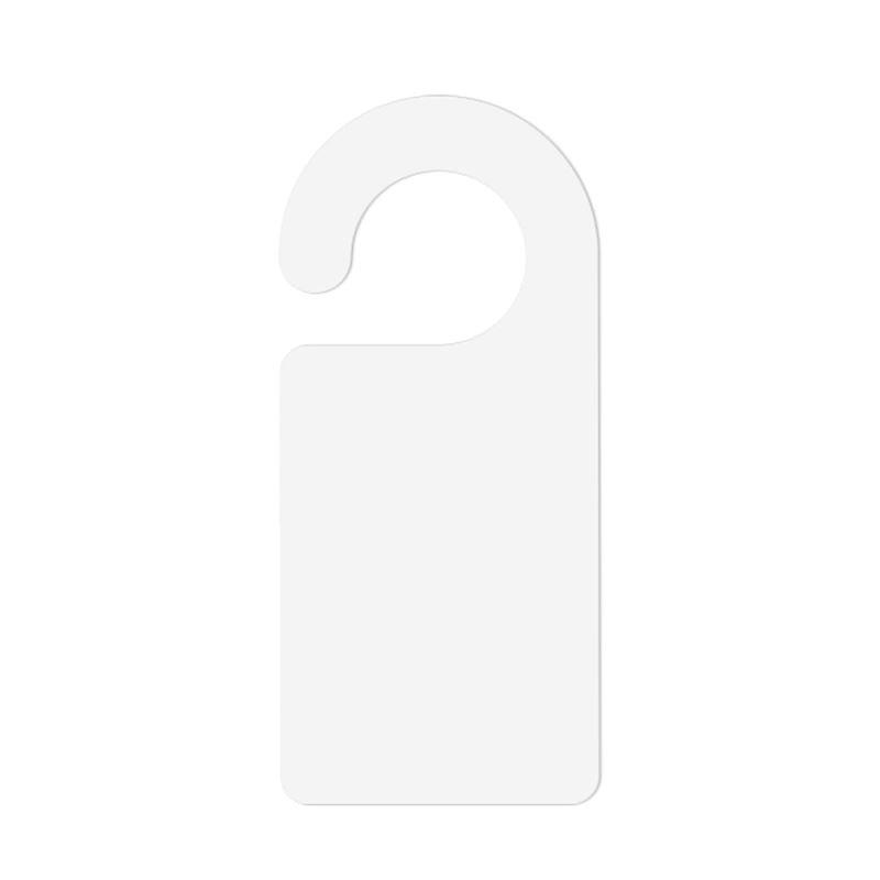 MDF Door Hanger Double Side Printable