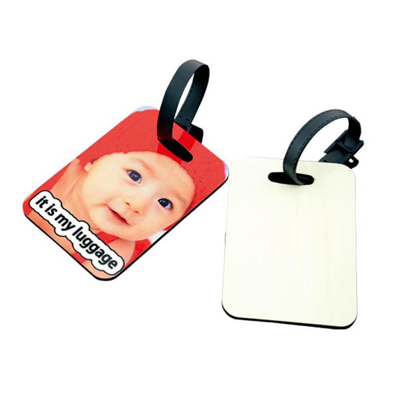 MDF luggage tag for heat press printing