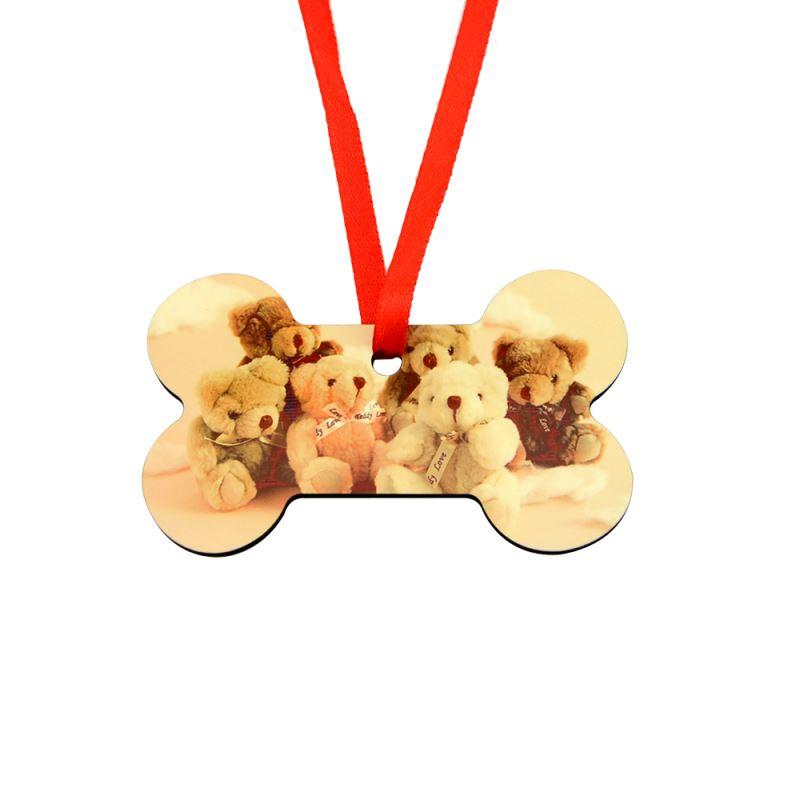 MDF Ornaments-Bone Shape